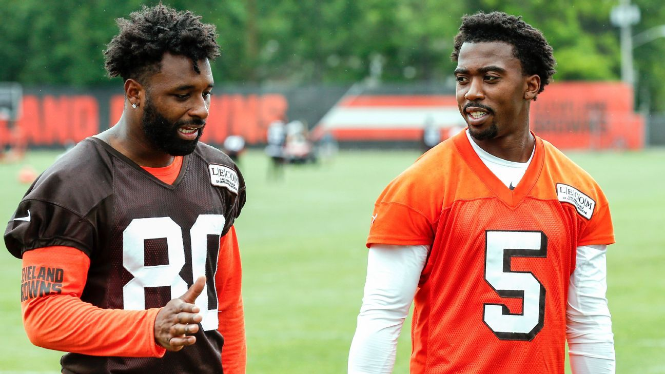 5456cd69d43 Cleveland Browns turn to newcomers to change culture, record in 2018 -  Cleveland Browns Blog- ESPN