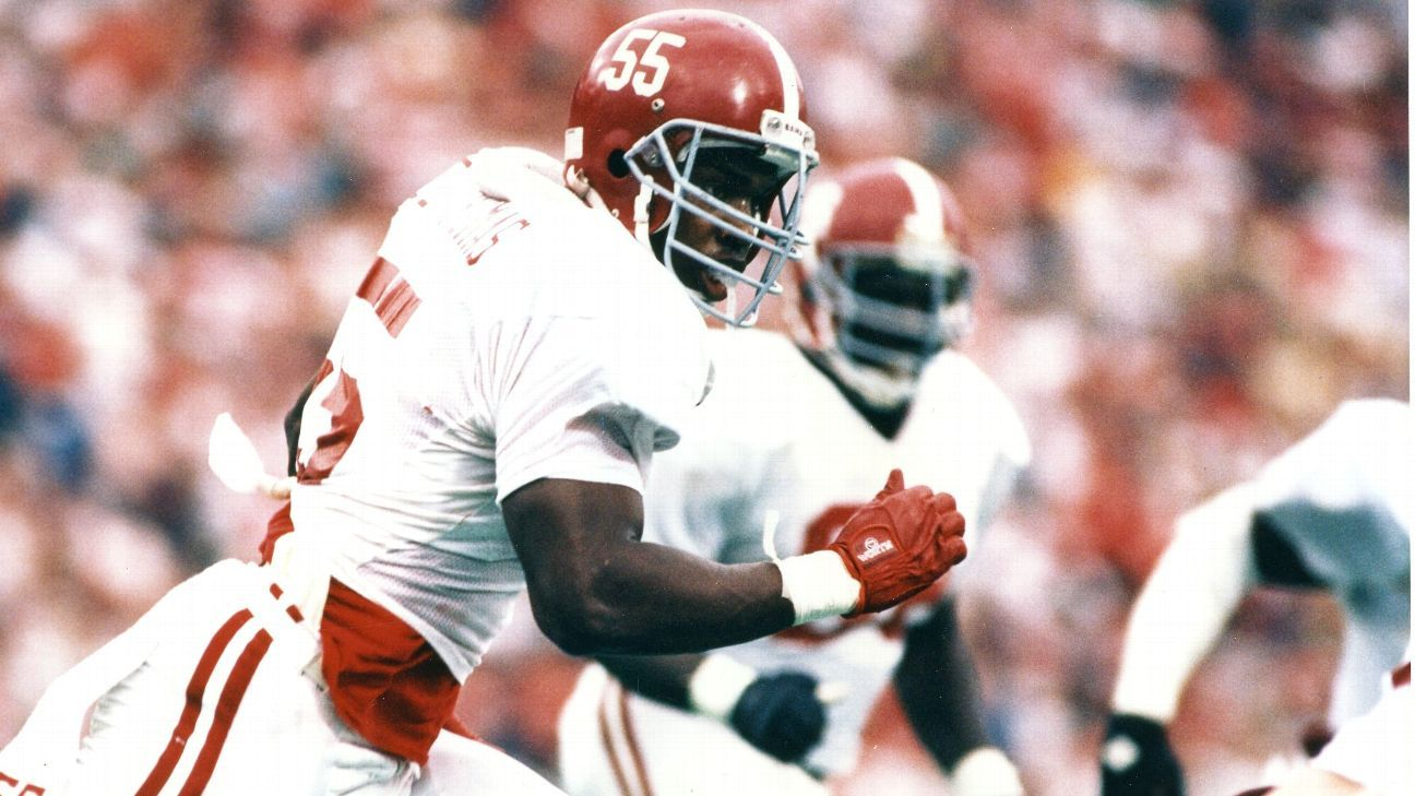 792a0995565 Alabama Crimson Tide Derrick Thomas is remembered by the QBs he sacked  during record season