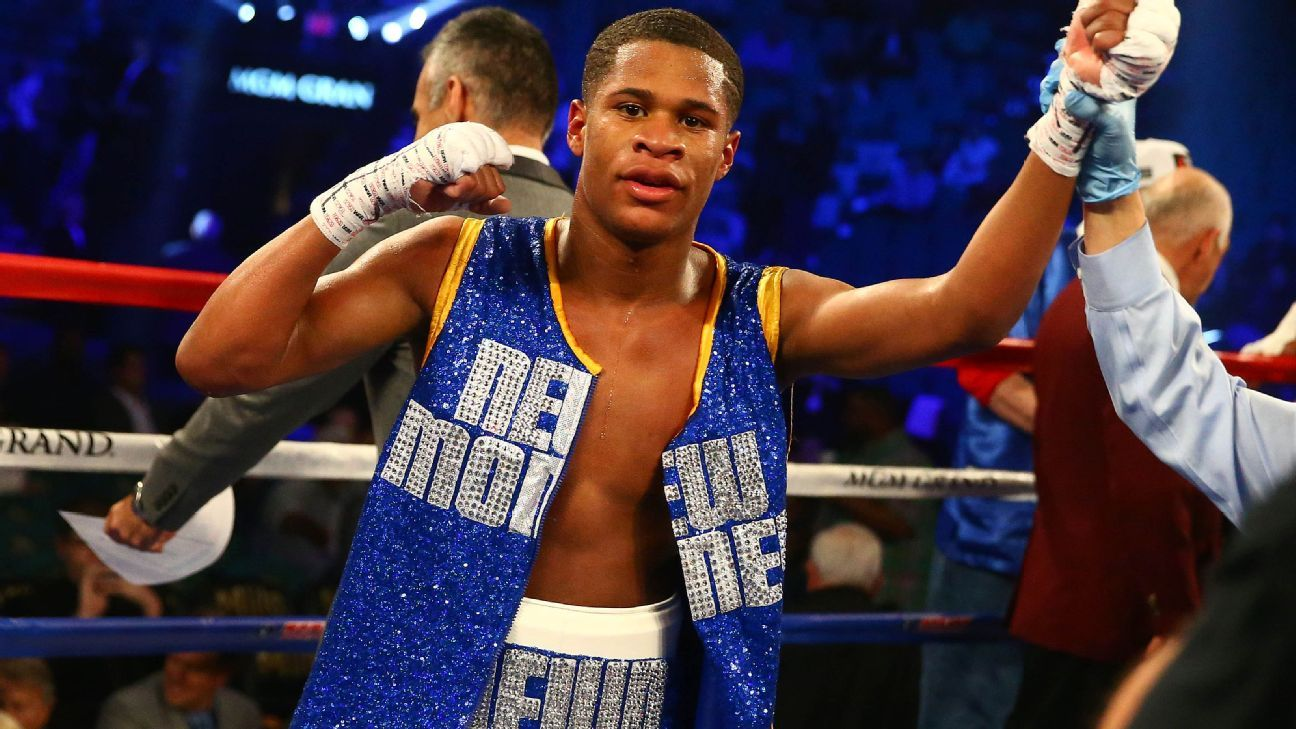 Haney rolls to interim title, taunts Lomachenko