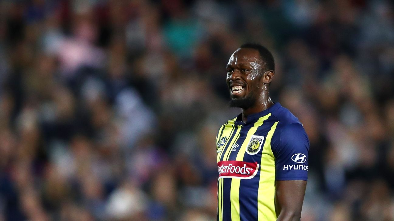 Usain Bolt to take week long break from Central Coast Mariners fd341a5a39