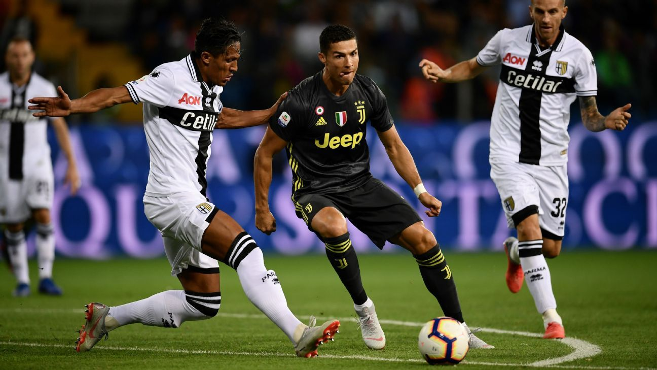 Parma vs. Juventus - Football Match Report - September 1 ...