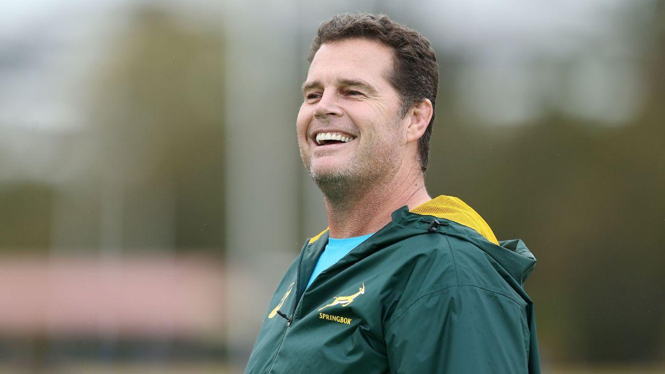 Rassie Erasmus set to stand down as Springboks coach after World Cup