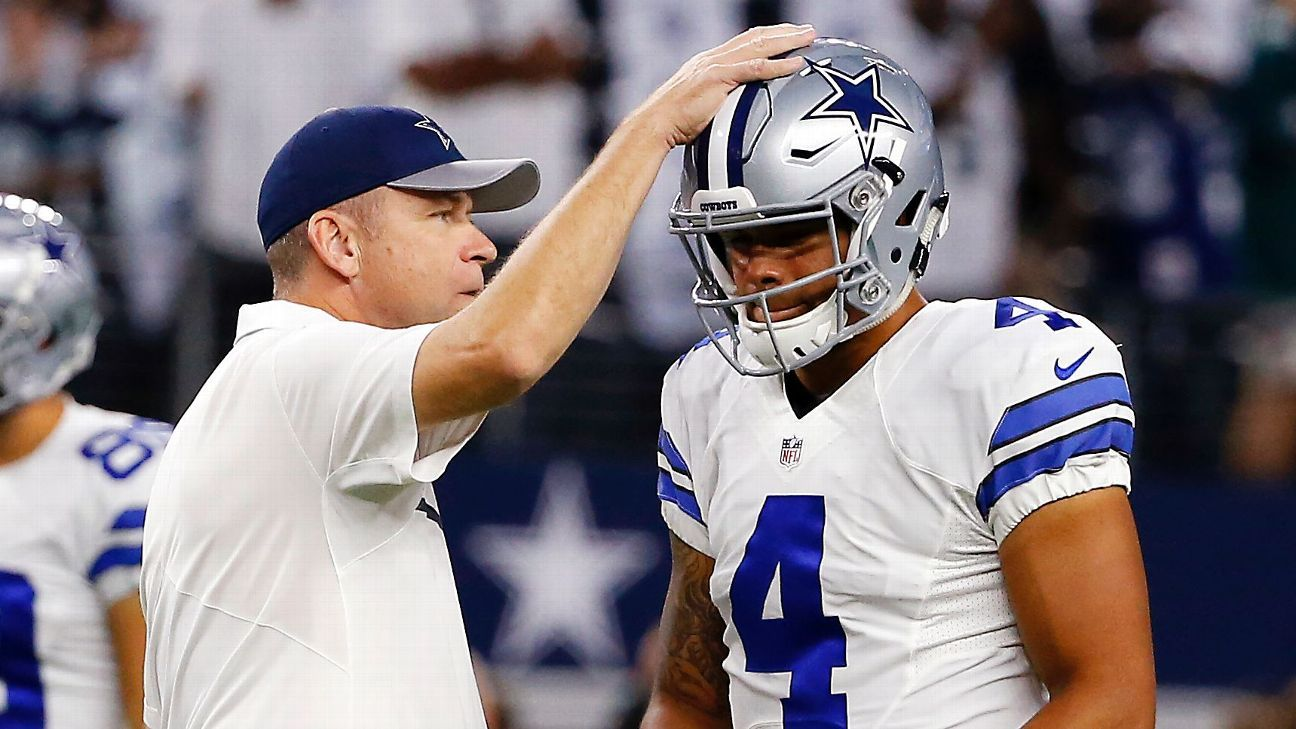 Scott Linehan is out as the Cowboys' offensive coordinator, the team announced Friday, meaning Dallas will move ahead with a different playcaller for the first time since 2014.