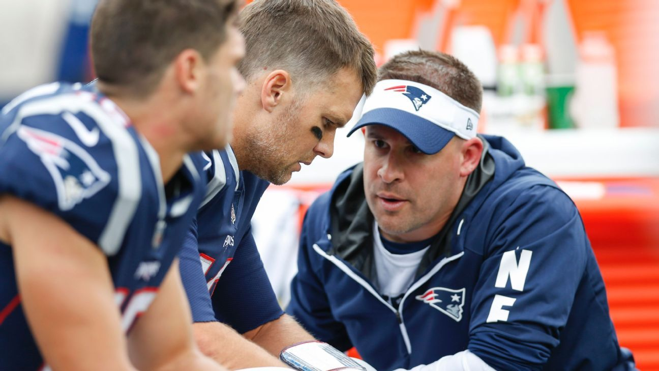 Josh McDaniels: Shaping Pats' attack without Gronk a work in progress