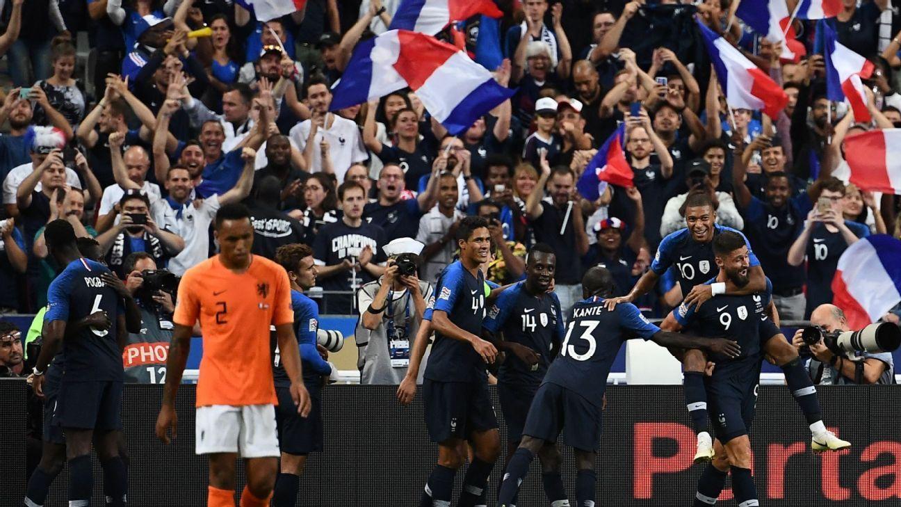 France vs. Netherlands - Football Match Summary - September 9 ea7001961