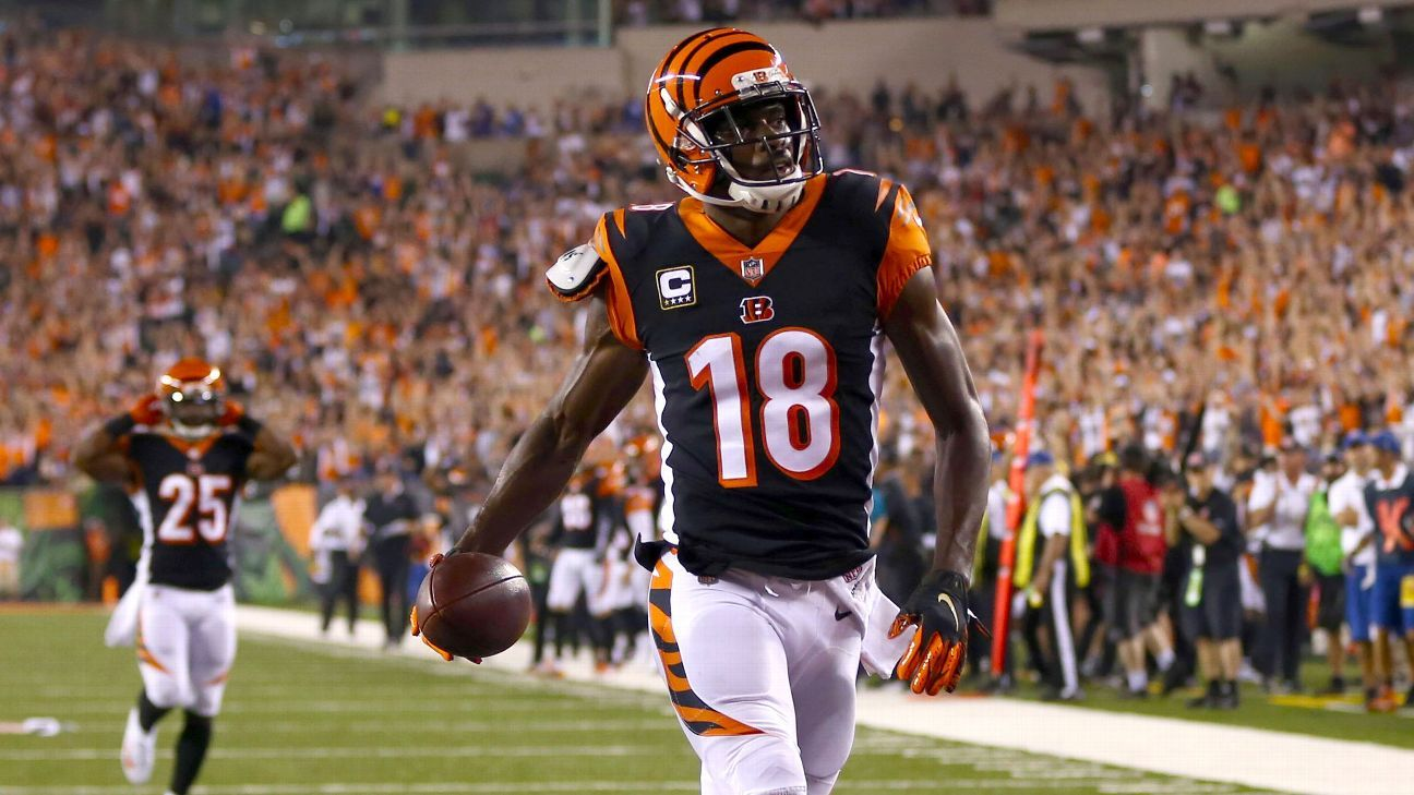 Bengals wide receiver A.J. Green is fine and healing from hip issue 41ff8c041