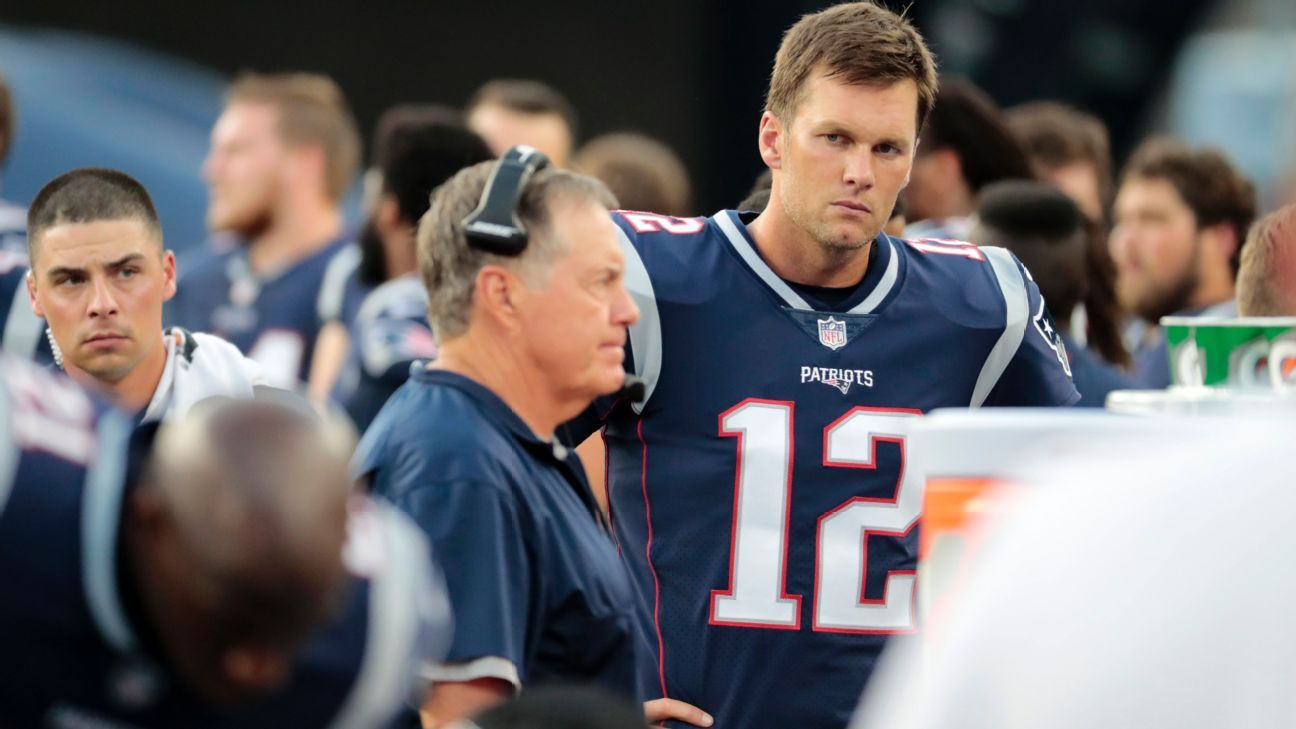 New book says Tom Brady long worried about being 'pushed out