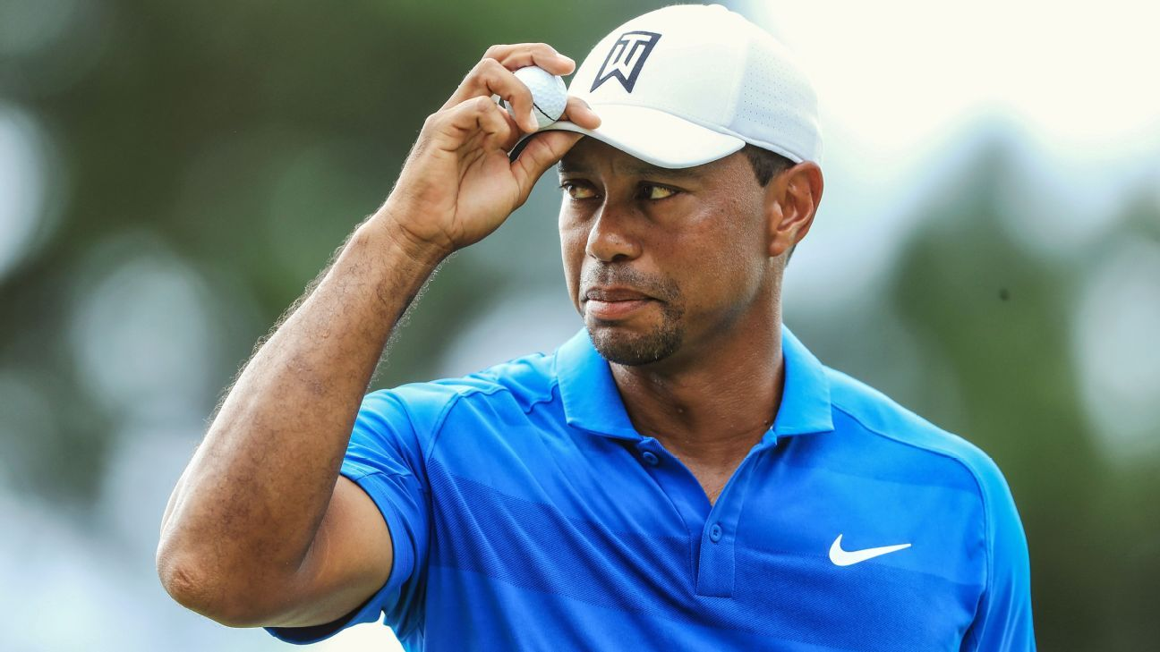 Will he fly, or will he fold? What to expect from Tour Championship leader Tiger Woods