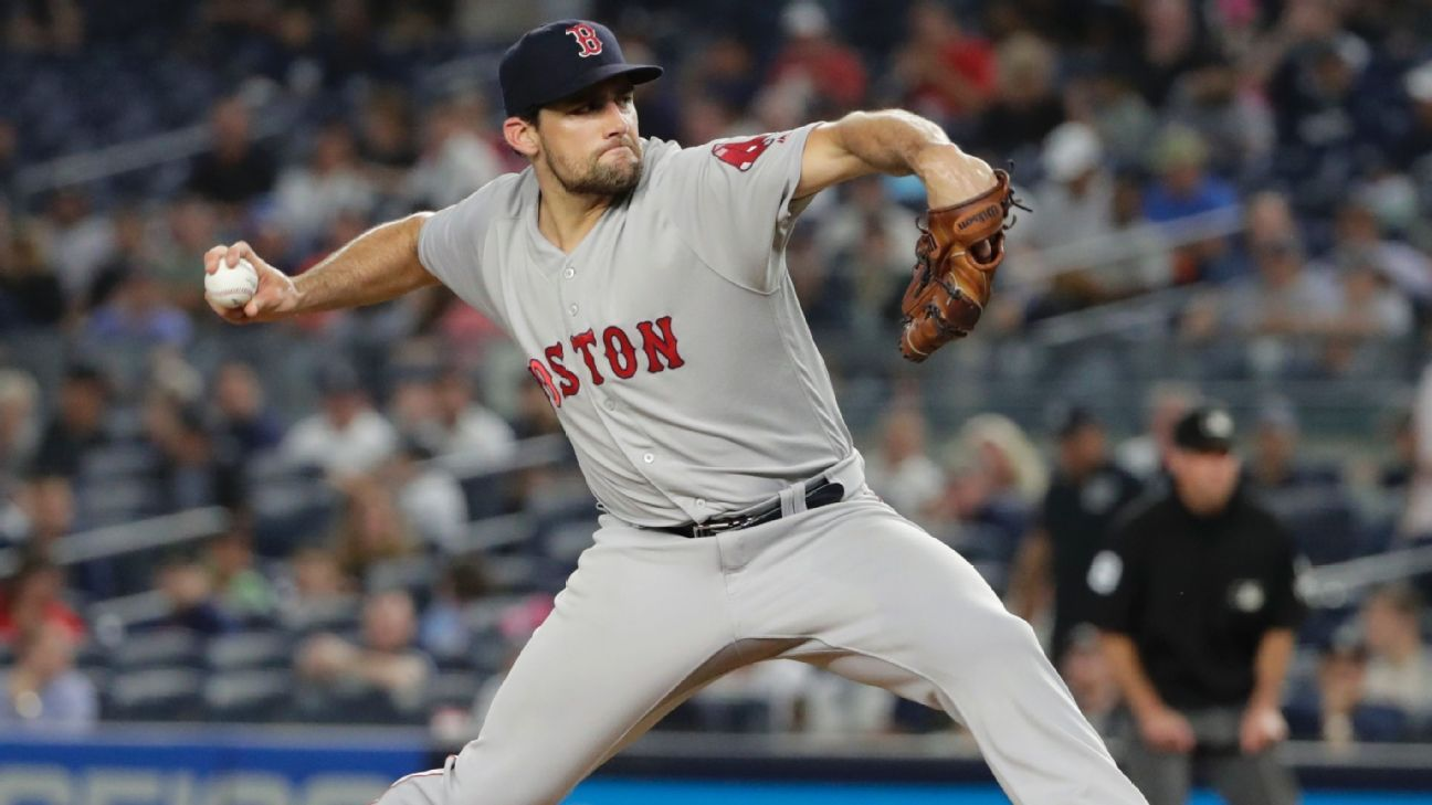 Boston Red Sox to start Nathan Eovaldi in Game 3 of ALDS