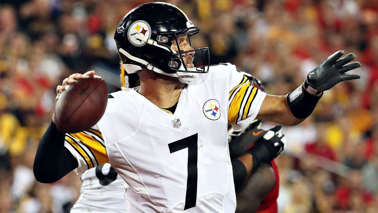 826623b8f Ben Roethlisberger of Pittsburgh Steelers questions rash of  roughing-the-passer flags