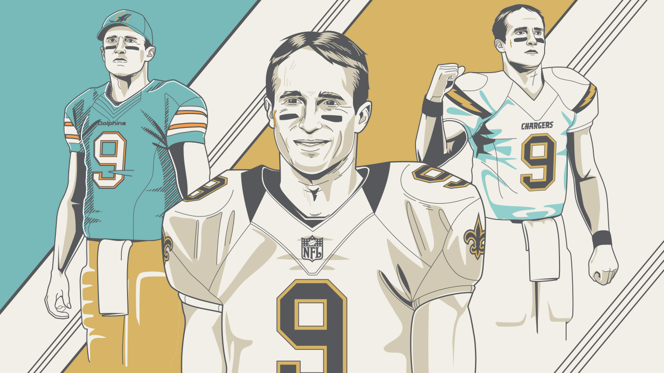 Alternate Drew Brees history - Timelines in which he never was New Orleans  Saints quarterback e6cb5e4fa