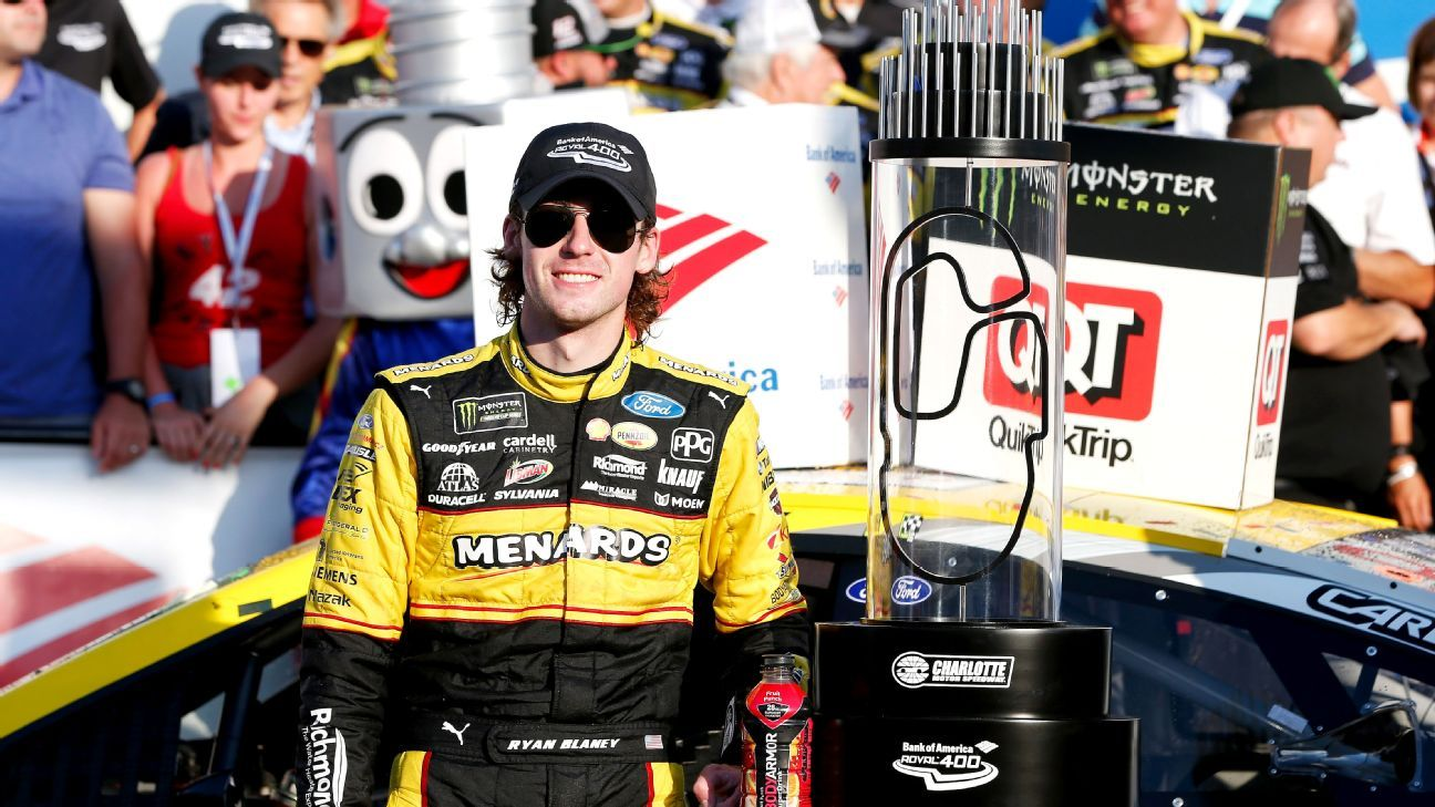 NASCAR Cup Series StatWatch 2018 - Ryan Blaney joins ...