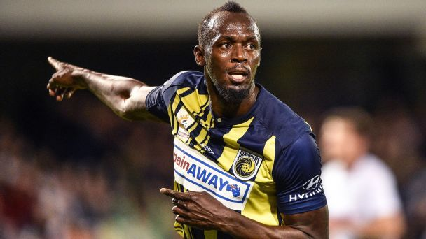 Usain Bolt s trial done at Central Coast Mariners and will leave club c86108f81b