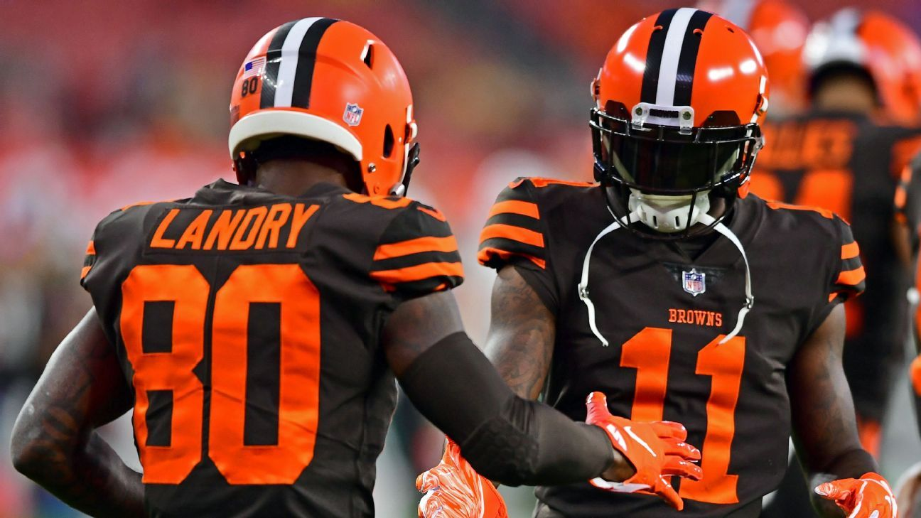 sports shoes dba77 36874 Jarvis Landry and ... ? How Cleveland Browns' WR plans fell ...