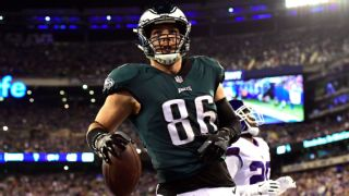 wholesale dealer fdb96 f4841 Gronk? Kelce? Right now, NFL's top tight end may be Zach ...