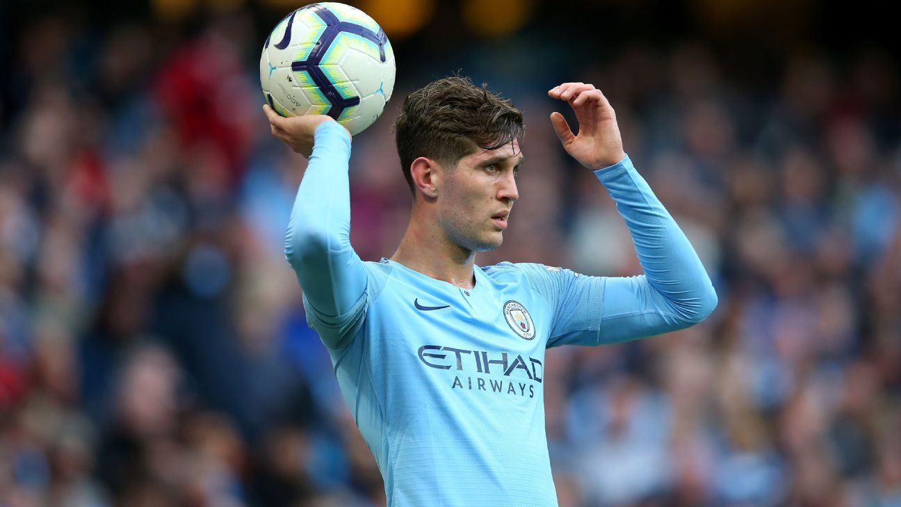 City defensive crisis: Stones out for 4-5 weeks