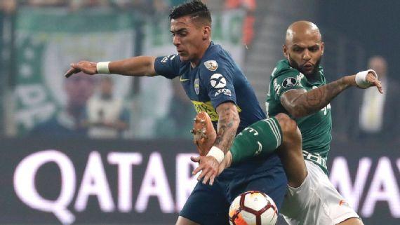 """Felipe Melo responde torcedor do River que chamou Palmeiras de """"time pequeno"""" em sua rede social; confira"""