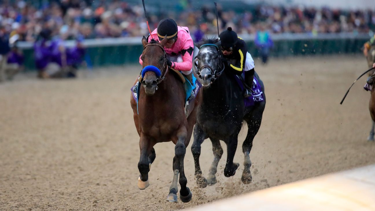 Game Winner Takes Charge Late To Win Breeders Cup Juvenile