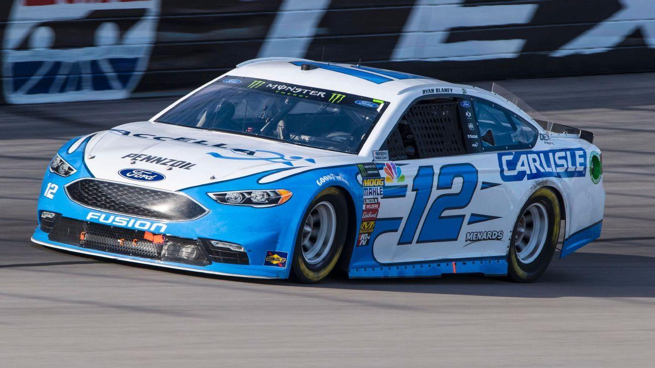 2018 NASCAR Cup Series Paint Schemes - Team #12 Team Penske