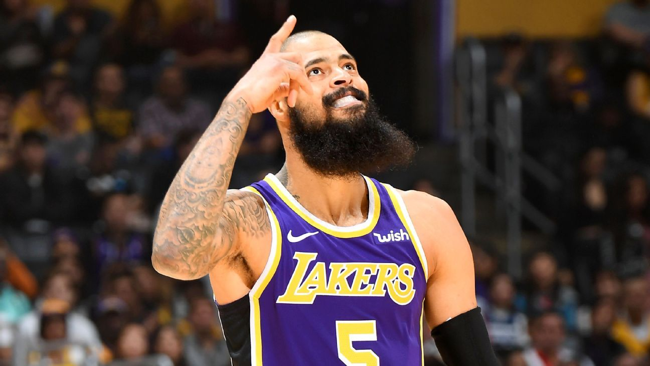 9cb2c44020f4 Tyson Chandler makes immediate impact in Los Angeles Lakers debut