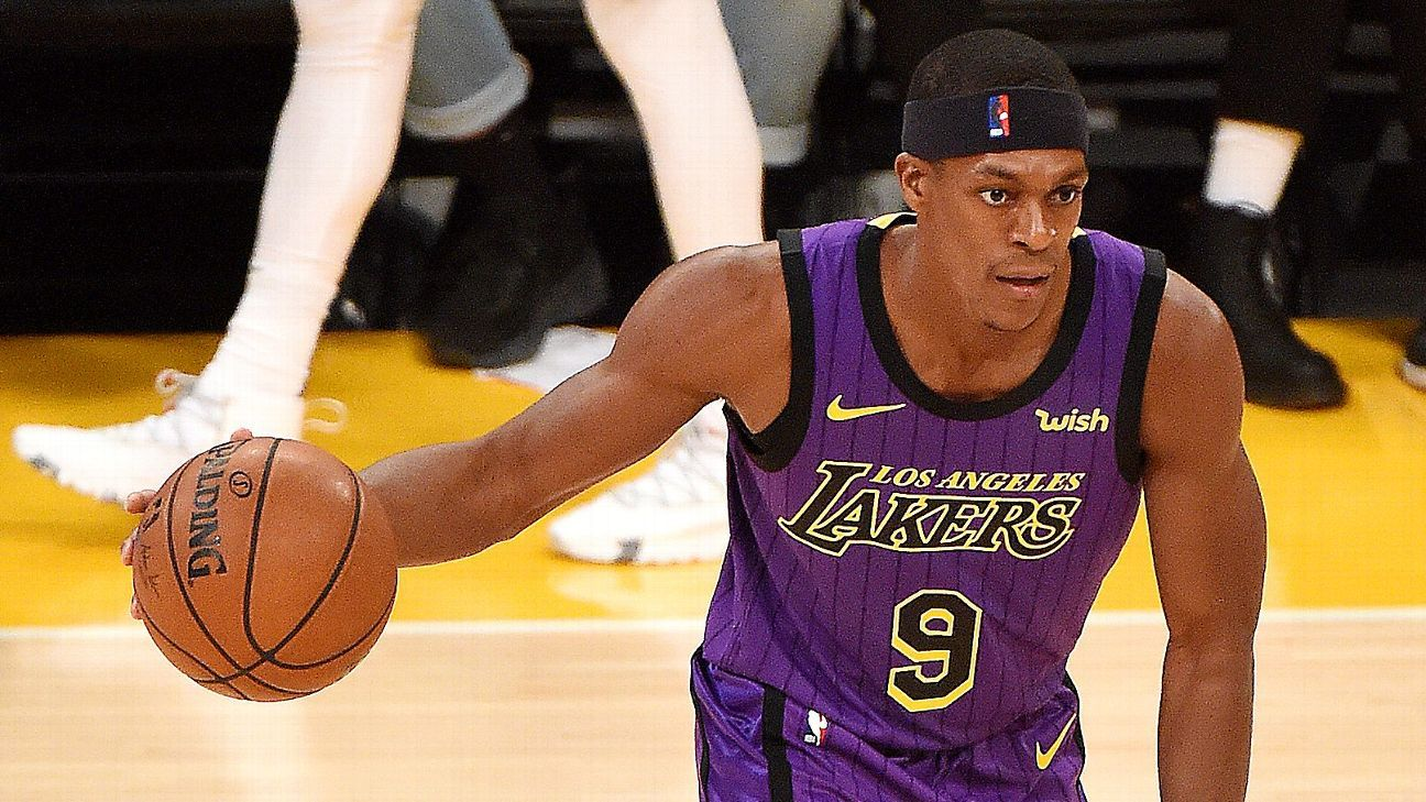 Rajon Rondo Of Los Angeles Lakers Breaks Hand, Out 'a Few