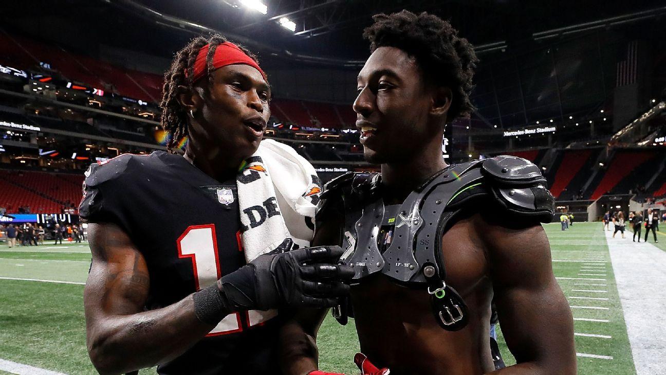 Alabama Ties Keep Julio Jones Calvin Ridley And Amari Cooper Connected Nfc South Espn