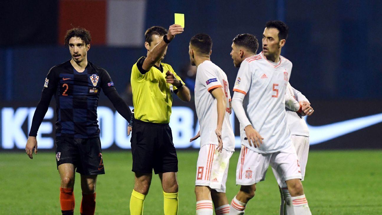88f22c88f4a Spain had  unfair  loss to Croatia in UEFA Nations League - Luis Enrique