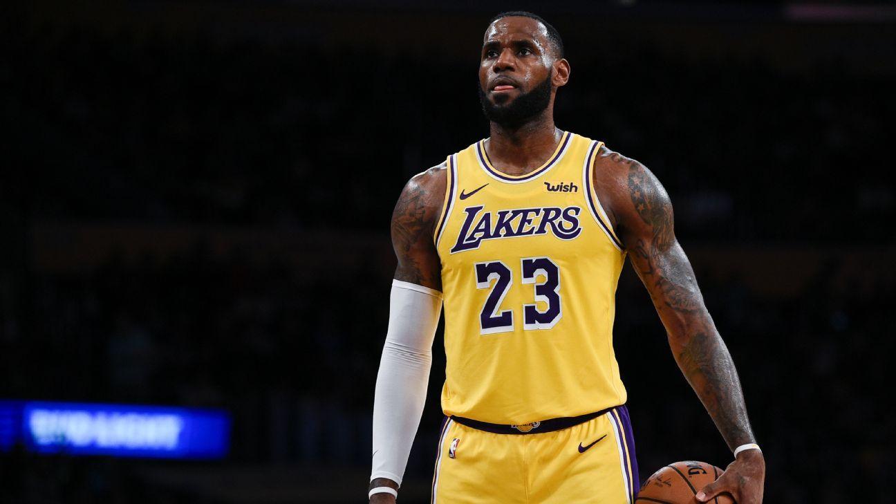 LeBron, Lakers lead jersey, merchandise sales