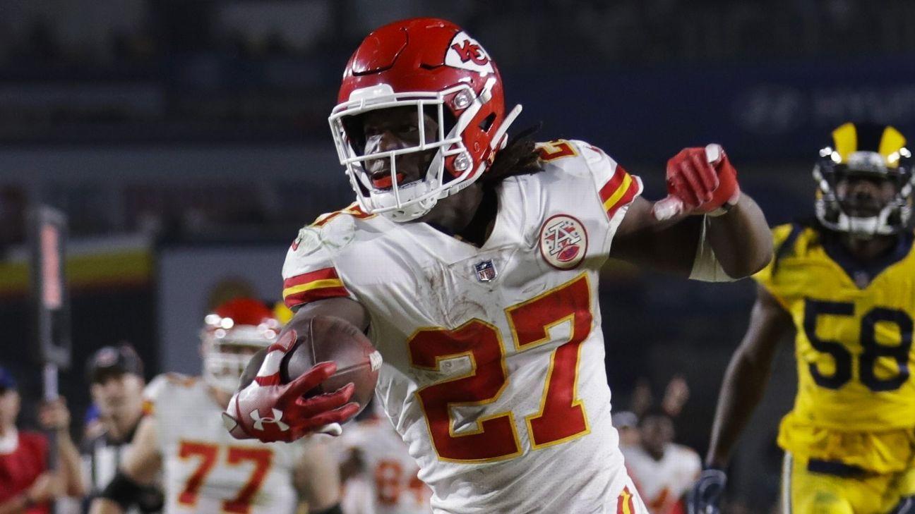 Kansas City Chiefs Running Back Kareem Hunt Seen Shoving Woman In