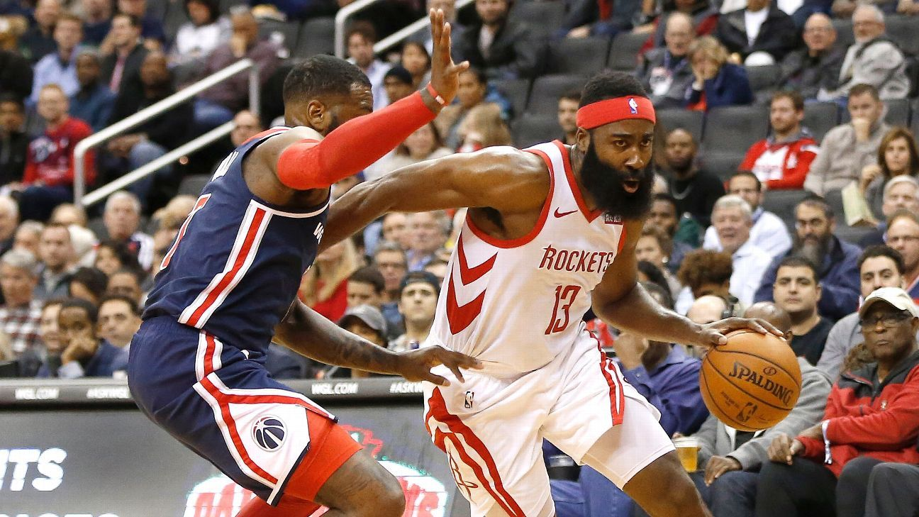 d44f8e1f760a James Harden s 54 for Houston Rockets highlights backcourts  historic duel