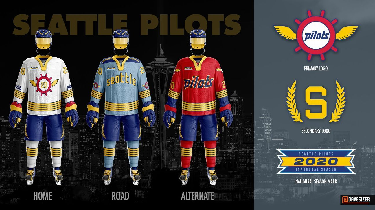 Uni Watch delivers the winning entries for the Seattle NHL design contest