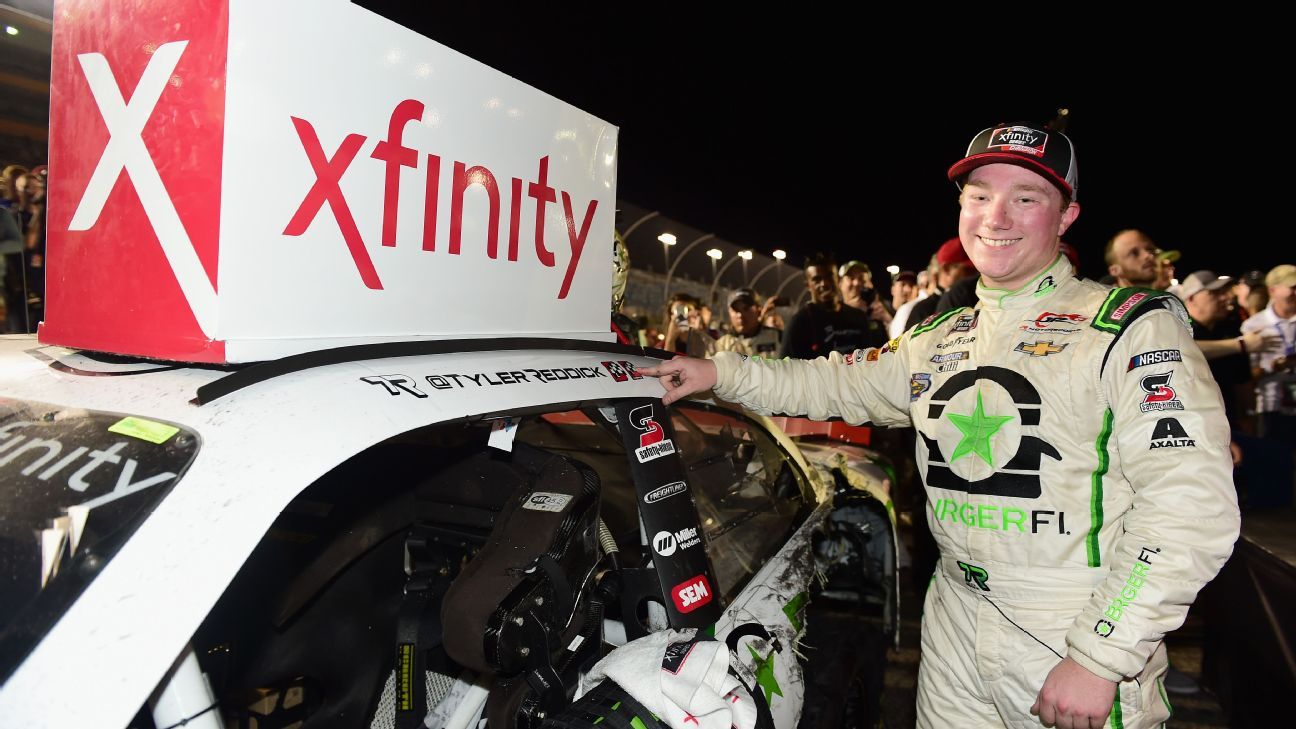 NASCAR 2018 Xfinity Series Champion Tyler Reddick Mentored