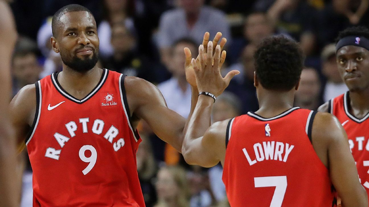 Raptors' Lowry out 2 weeks; Ibaka indefinitely
