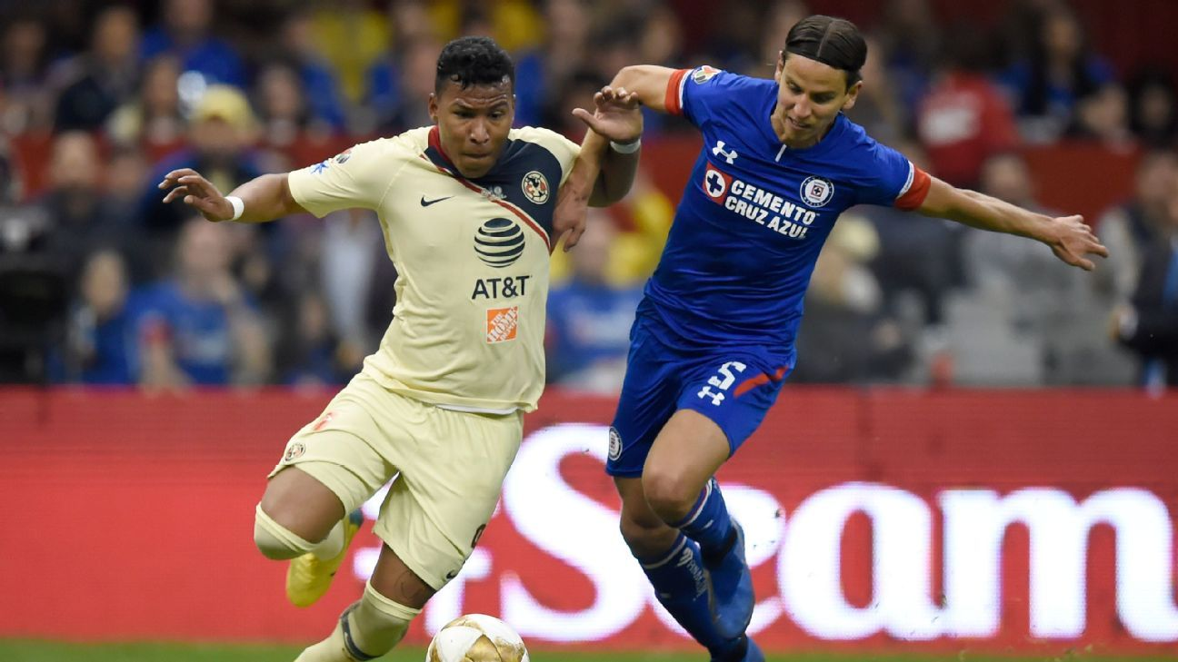 0ab3e1065 America and Cruz Azul s Apertura first-leg battle sets stage for dramatic  finale on Sunday