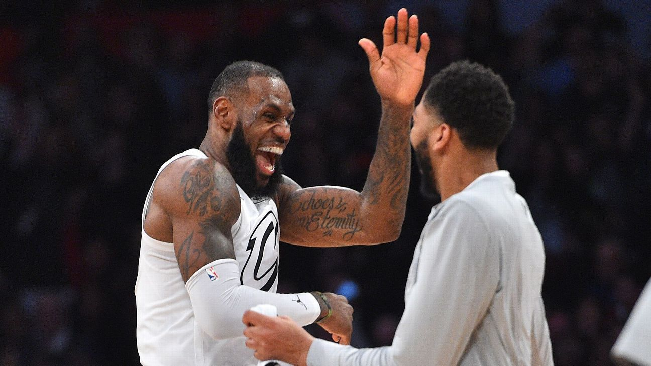 c0398fd06c0d LeBron James  Los Angeles Lakers getting Anthony Davis would be  amazing