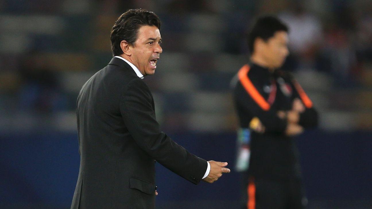 Gallardo le hizo un guiño a la Selección Argentina