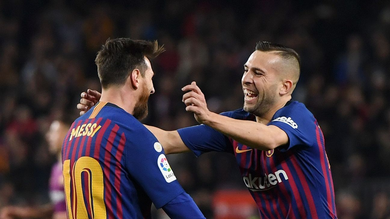 BREAKING: Jordi Alba makes a big statement regarding Leo Messi's Contract in FC Barcelona