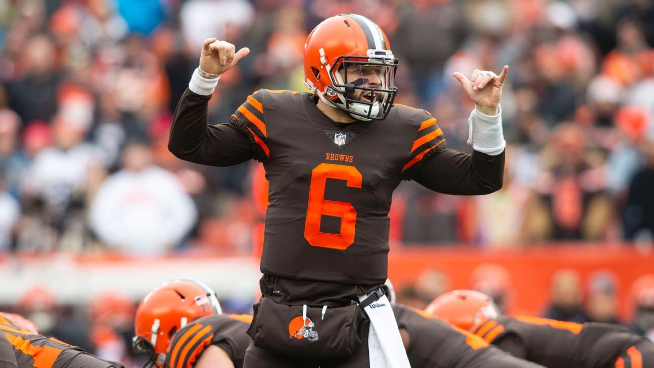 The NFL significantly reduced the fine Browns quarterback Baker Mayfield received for a gesture he made on the sidelines during a December win over Cincinnati.
