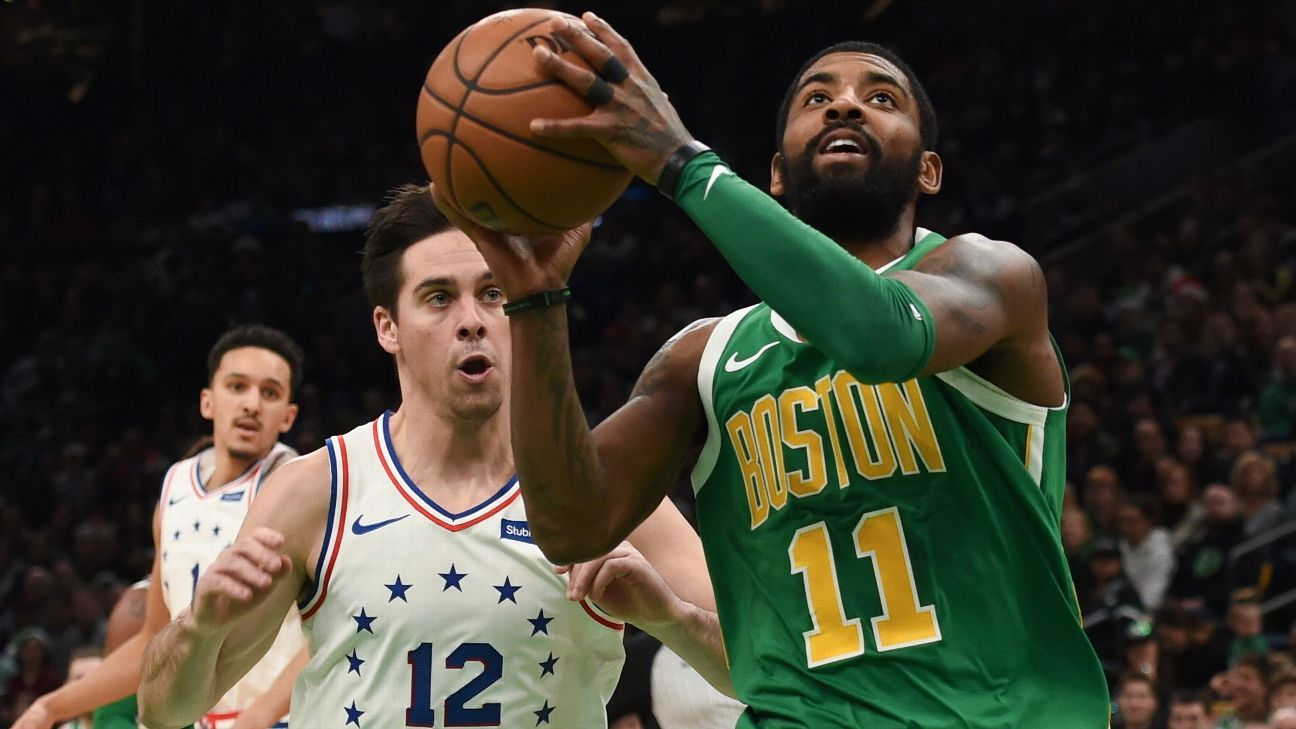 0eef1d84135 Kyrie Irving comes up big for Boston Celtics to deliver OT win vs.  Philadelphia 76ers