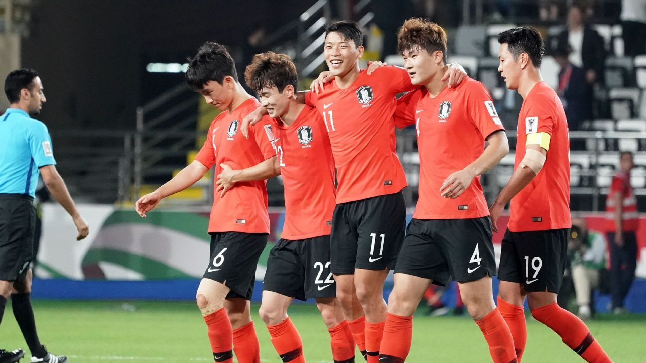 Asian Cup Son starts as South Korea beat China to win group