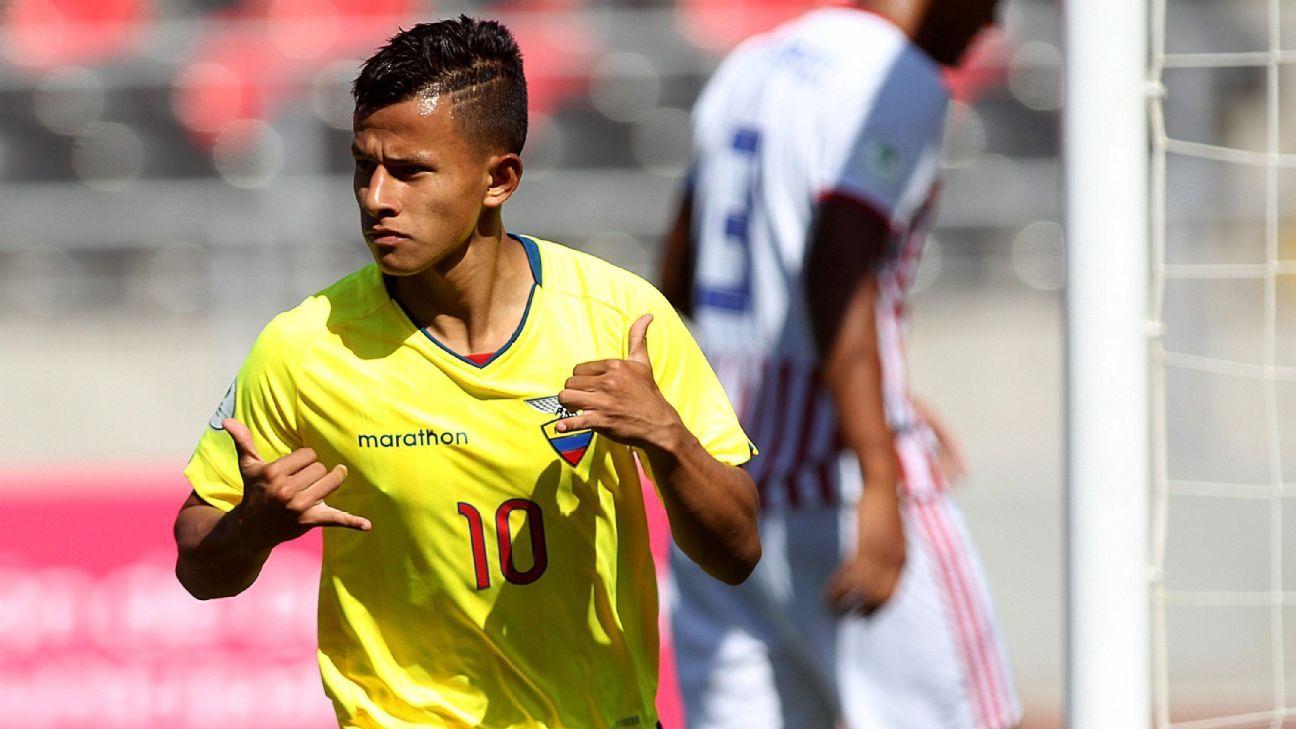 Venezuela Sub 20 Contra Ecuador Sub 20: Ecuador Sub 20 Vs. Paraguay Sub 20