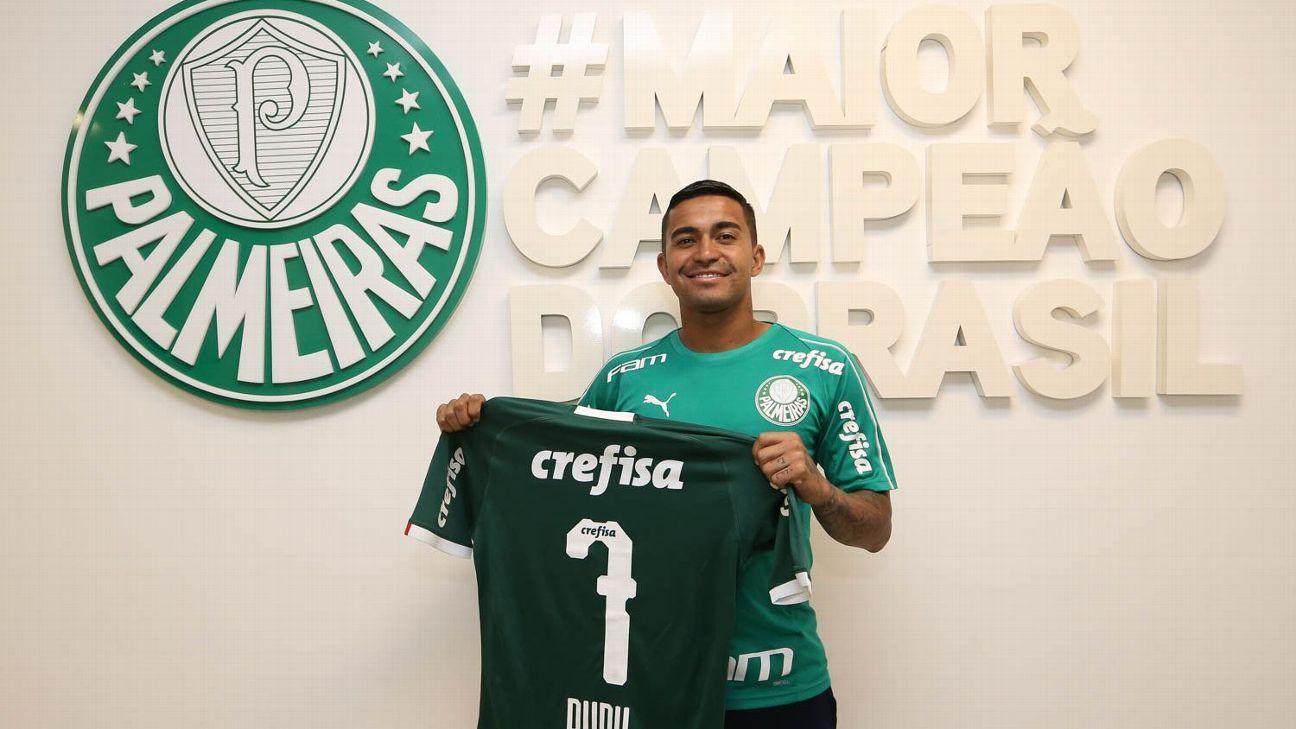 Dudu renova até 2023 com o Palmeiras e anuncia permanência no clube 779168a9b44fd