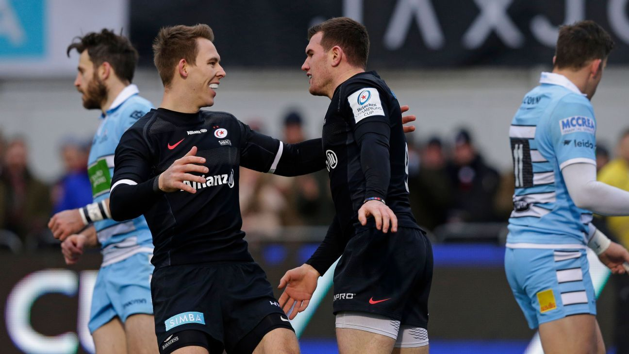 Saracens go perfect in champions cup pools for Gallagher swimming pool hamilton