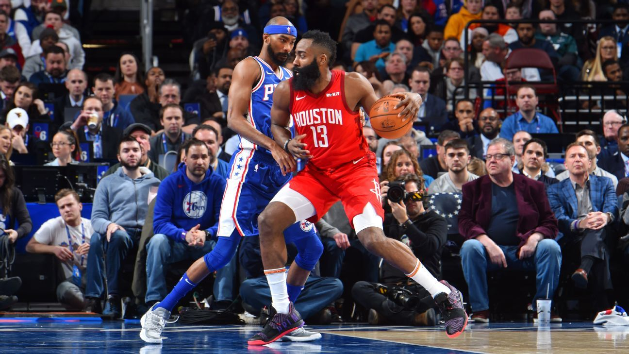 b071ec1a0909 Houston Rockets star James Harden reaches 30 points for 20th consecutive  game