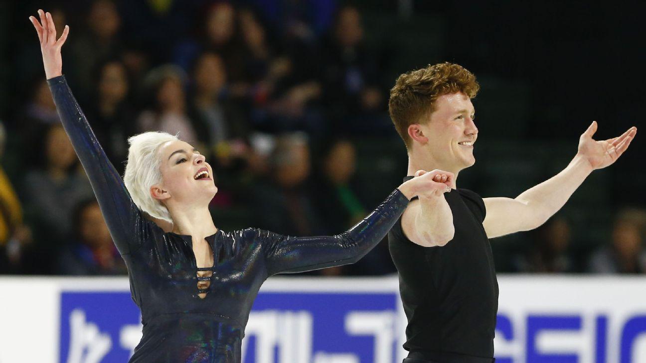 5a2ce18ea1b7 LGBTQ ice dancers Karina Manta and Joe Johnson challenge figure skating s  norms