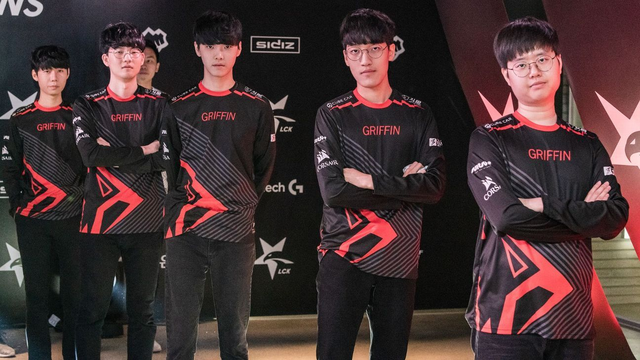 2019 League of Legends Global Power Rankings -- Griffin