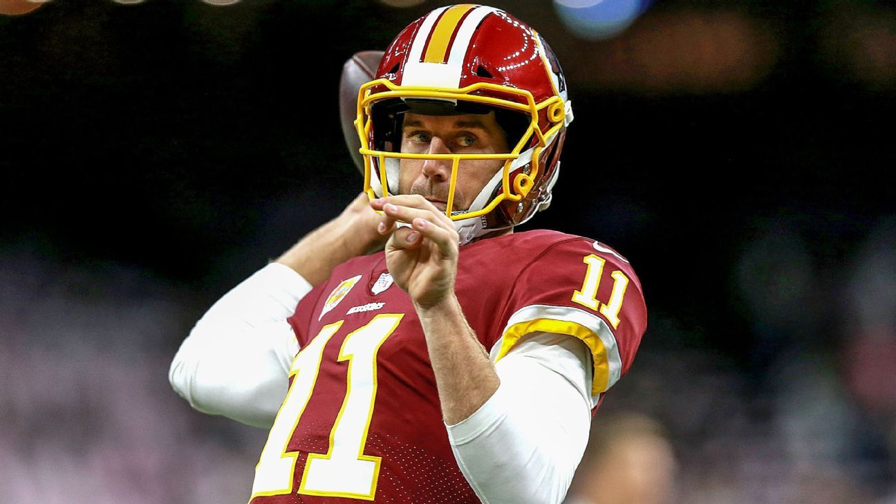 Source – Washington QB Alex Smith will be cleared for football activity by team – ESPN