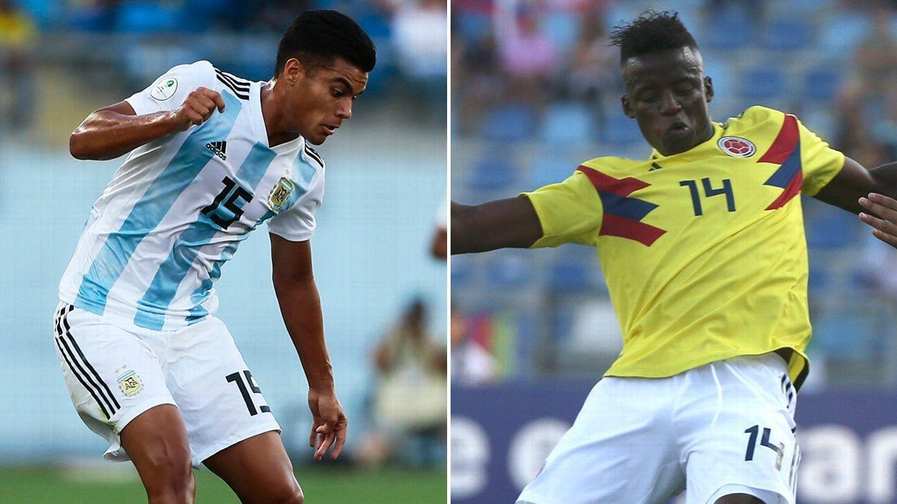 Brasil Vs Argentina Sub 20: Argentina Sub 20 Vs. Colombia Sub 20
