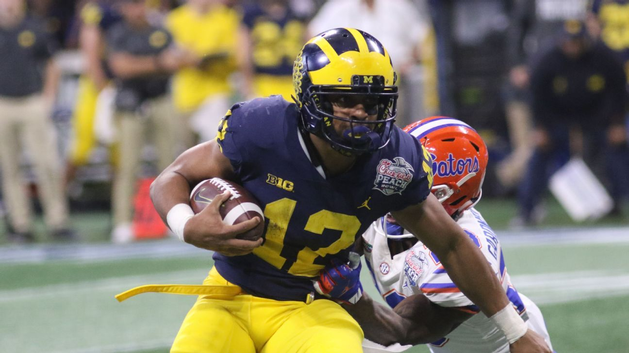 Suspended Michigan running back Chris Evans will not be able to play for the Wolverines during the 2019 season.