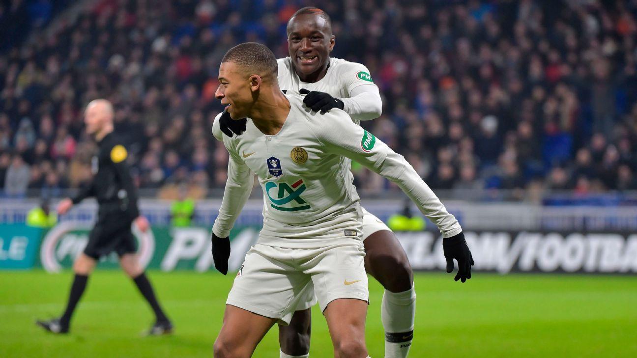 Villefranche Vs Paris Saint Germain Football Match Report February   Espn